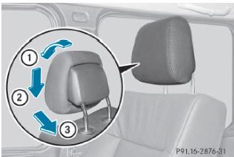En voiture l appuie t te pour casser une vitre en cas d for Vitre au dessus d une porte